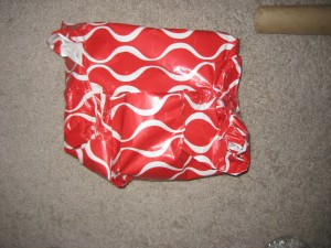 Mr T's wrapping skills